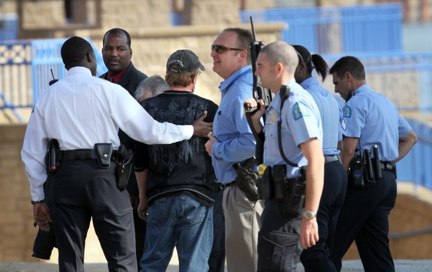 St Louis Police Respond To Riverfront For Report Of