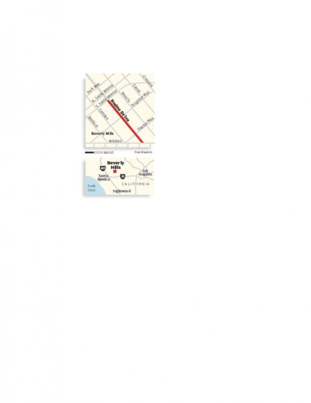 Rodeo Drive shopping area map Media stltodaycom