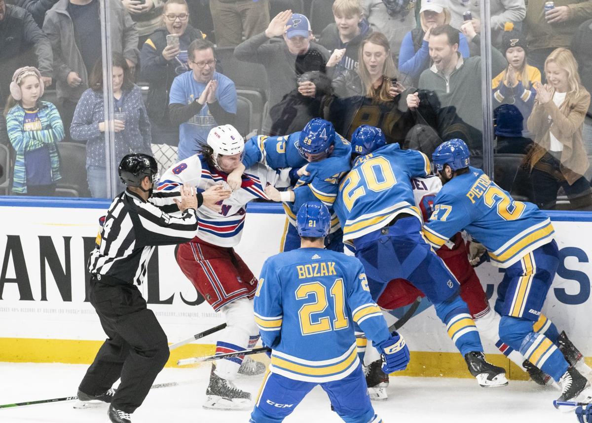 Blues battle Rangers