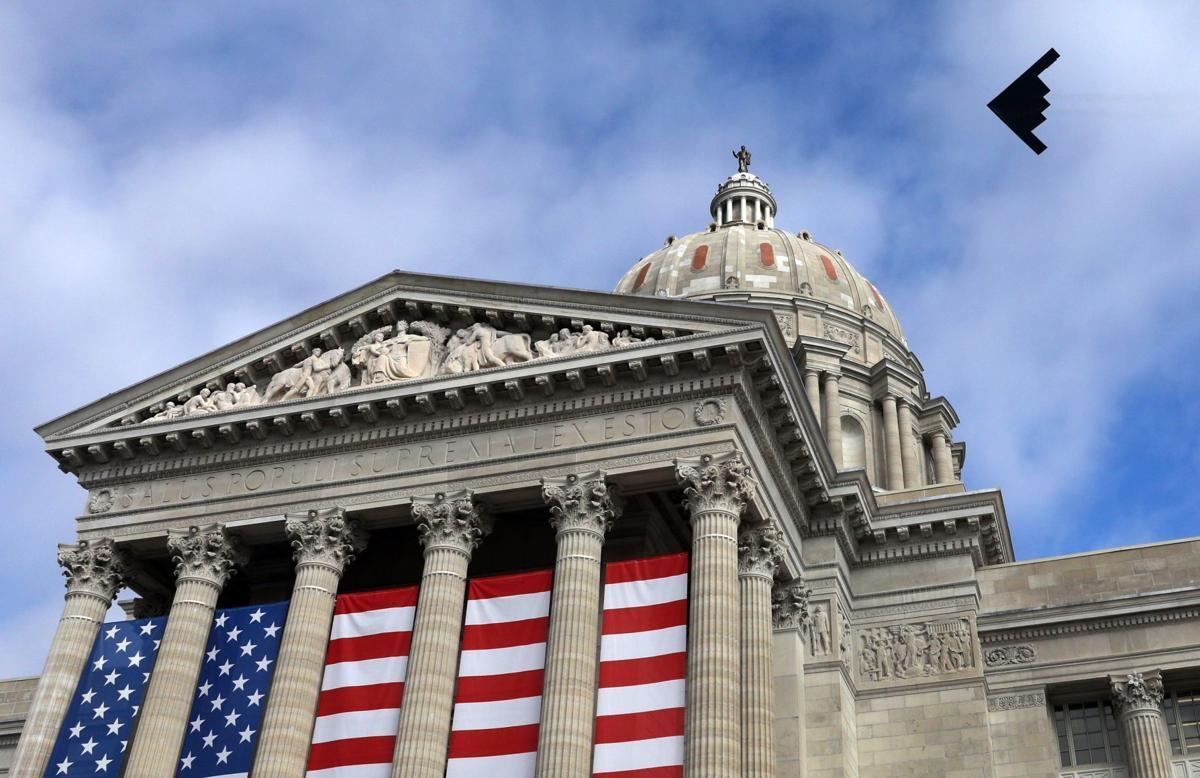 Gov. Parson sworn-in at Bicentennial Inauguration
