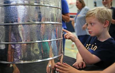 Stanley Cup visits Barretts Elementary