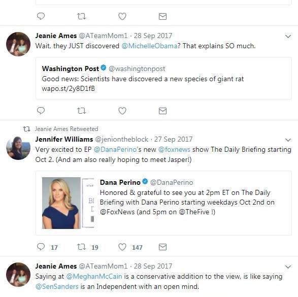 Jeanie Ames tweet