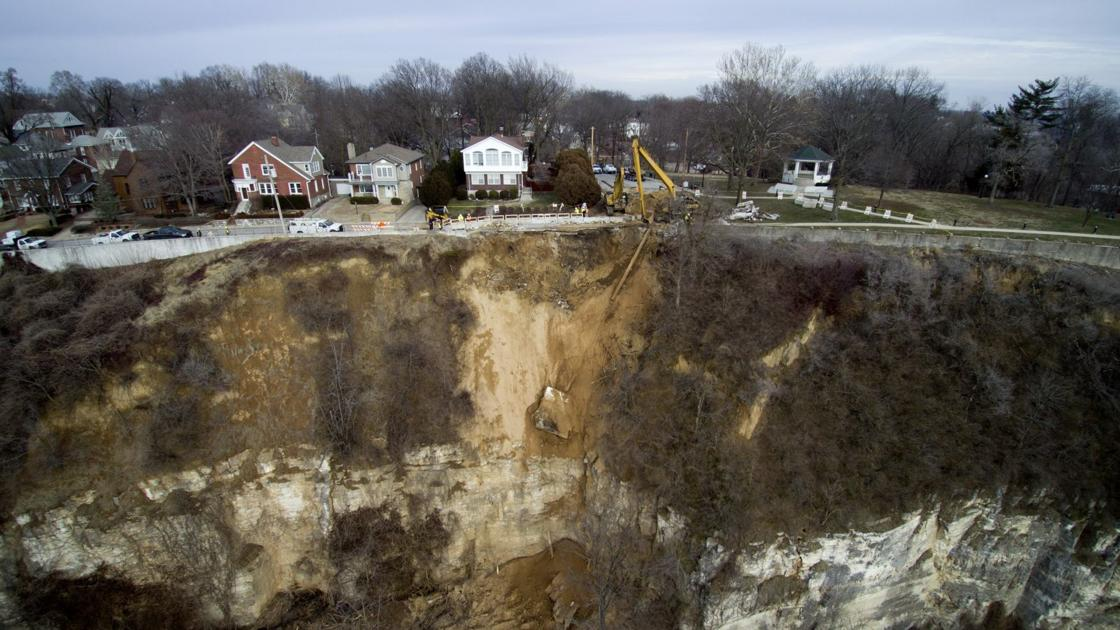 Six months after flooding and landslide, Alton says FEMA aid is nearly on its way