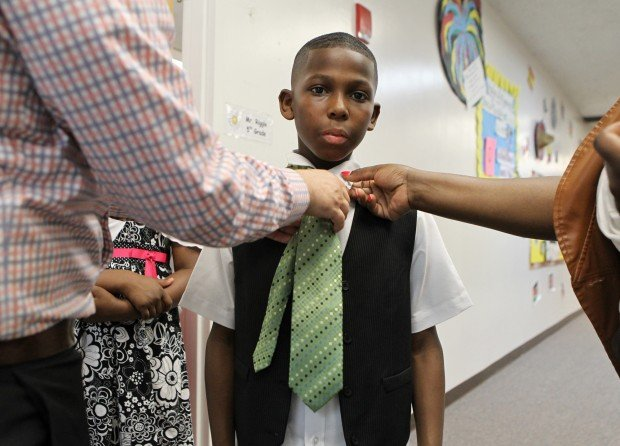 Fifth grade Imagine Academy students graduate