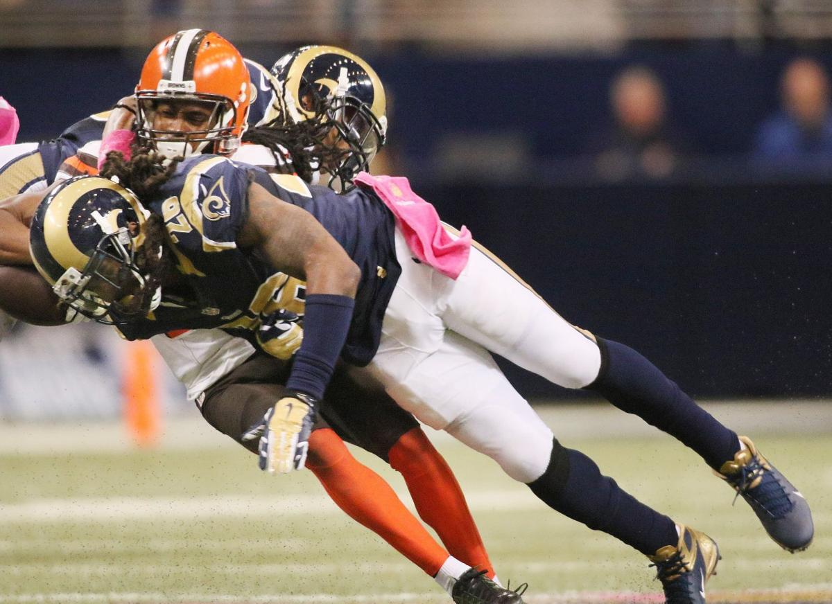 Rams' Barron energized in new position | NFL | stltoday.com
