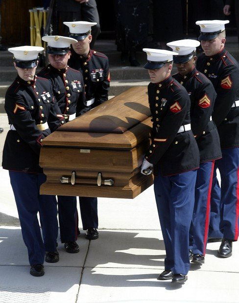 LAYING LOCAL MARINE TO REST