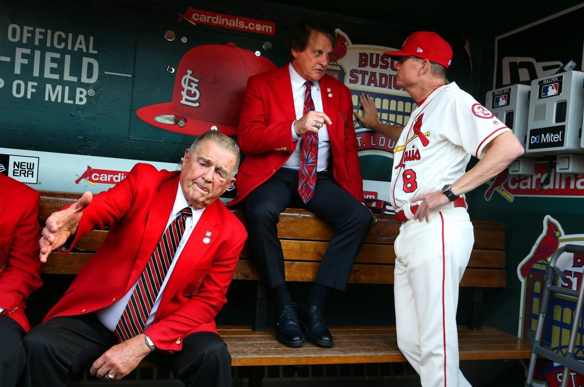 23d1f517c Goold  Shildt s talks with Tony reveal how Cardinals manager is the sum of  many mentors