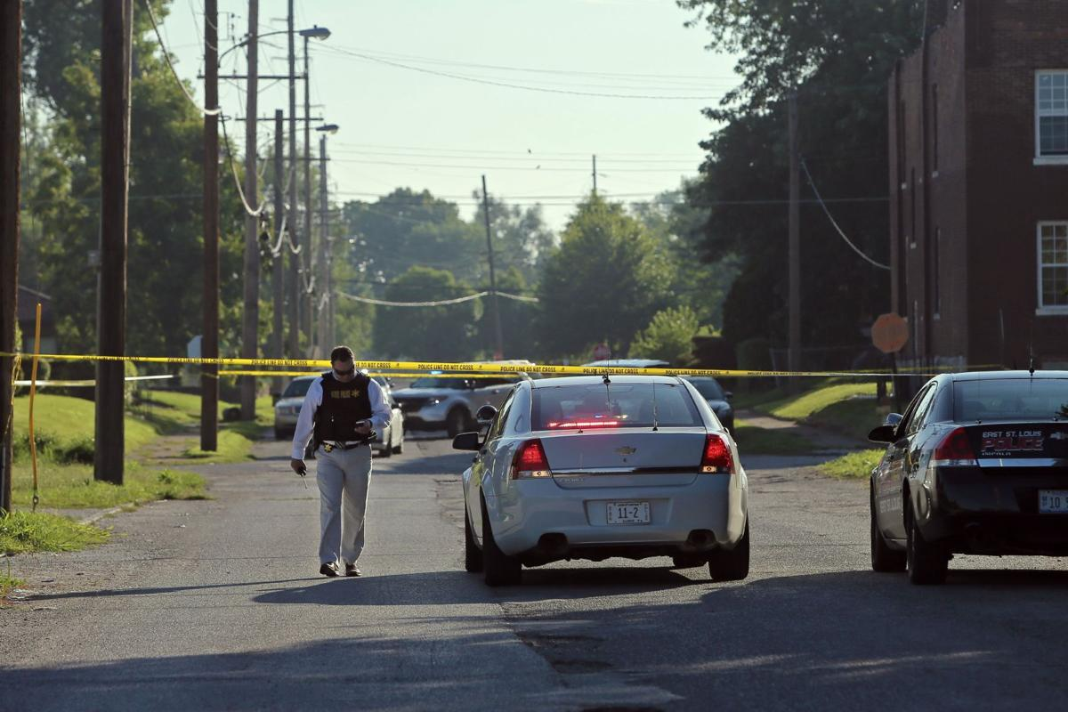 East St. Louis man shot by police while standing in street firing weapons