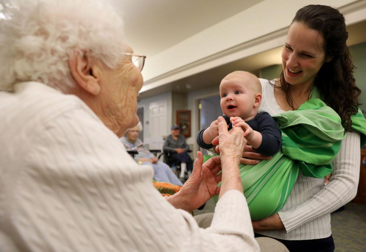 Intergenerational music therapy