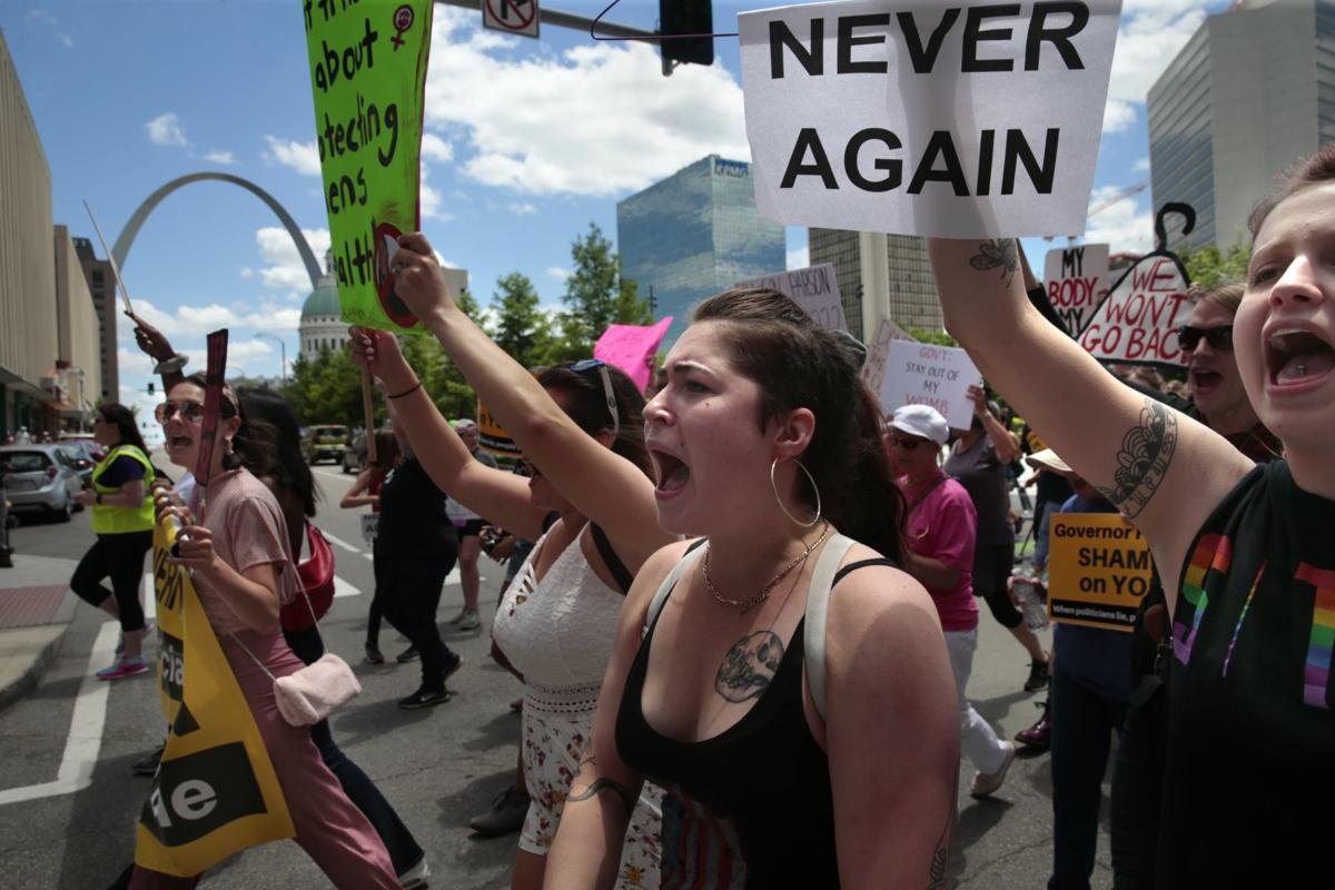 Abortion rights rally results in arrests downtown