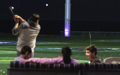 Family and Friends at Top Golf