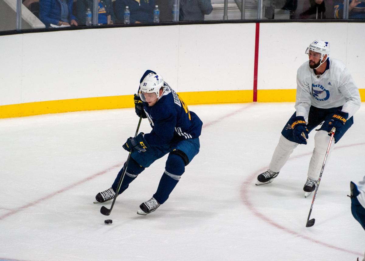 St. Louis Blues host first open practice of 2019-20 season