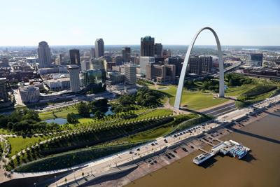St. Louis Arch and redesigned entrance