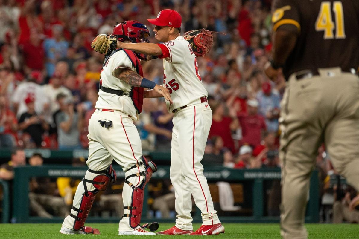 Cardinals take on Padres in second game at home