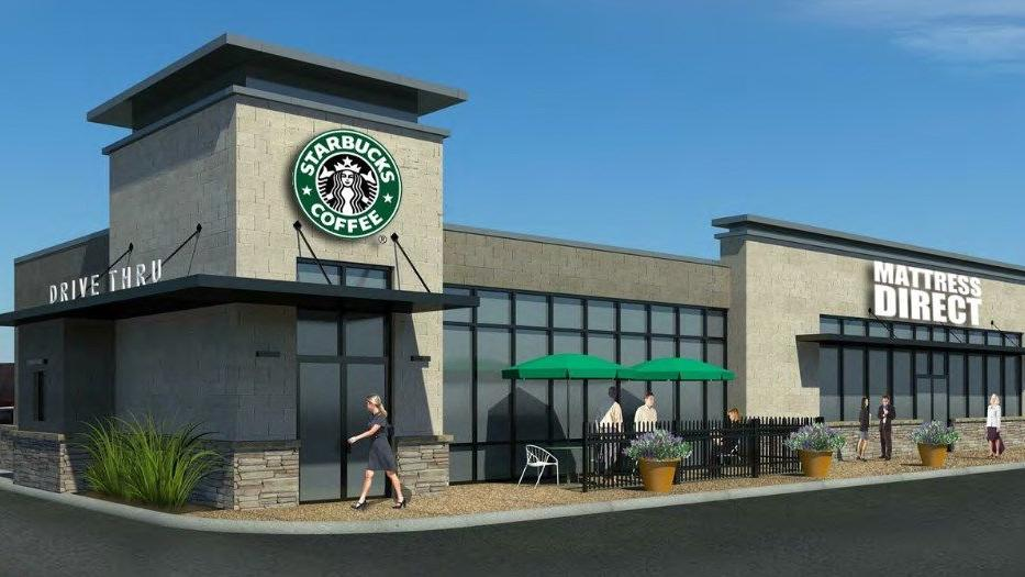 Sunset Hills site to get a Starbucks and Mattress Direct
