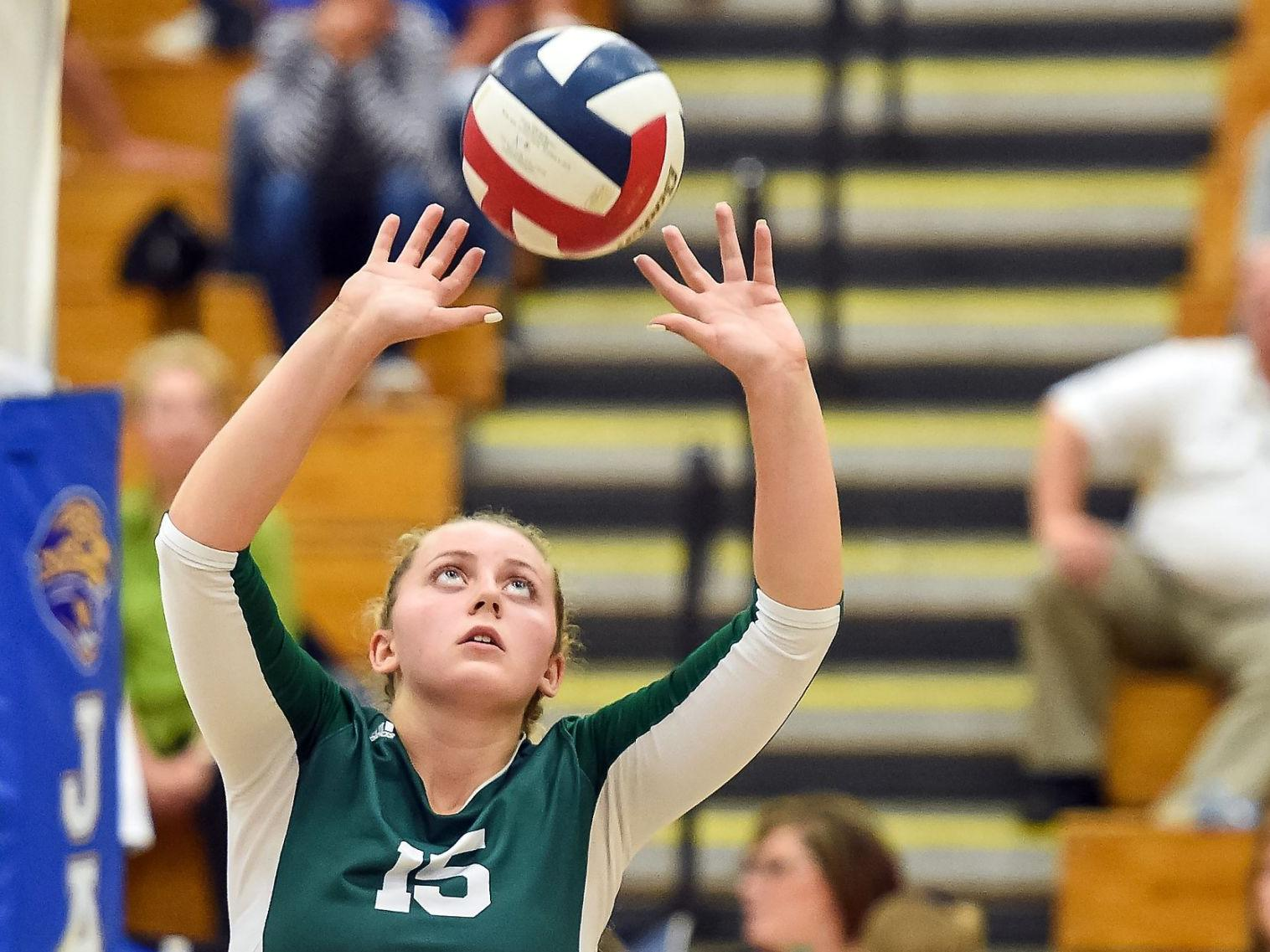 Kiene Leads Aggressive Serving Attack To Help Mehlville Sweep Seckman Girls Volleyball Stltoday Com