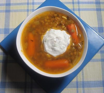 Special Request The Greek Kitchen lentil soup