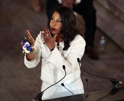 Tishaura Jones sworn in as mayor of St. Louis