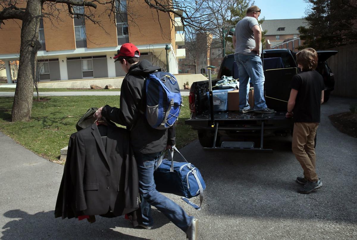 Washington University closes dorms, suspends in-person classes