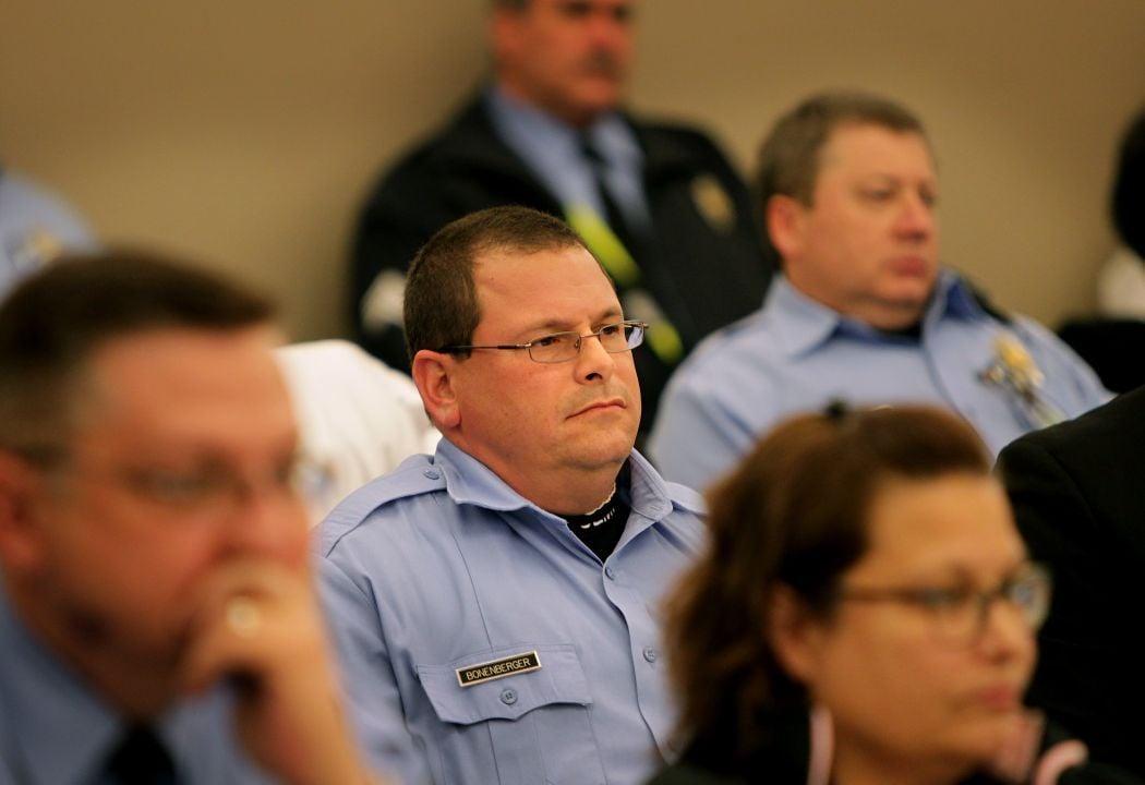 St. Louis Police officer David Bonenberger