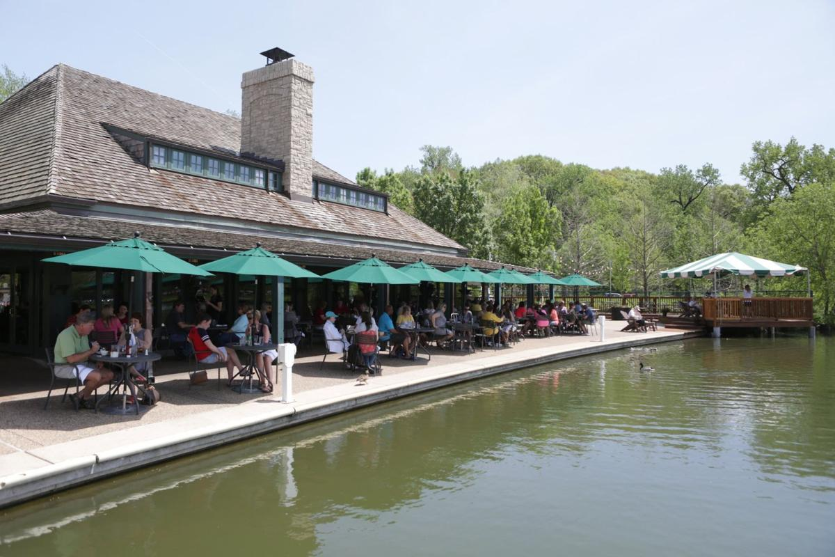 Patio dining for summer fun guide: The Boathouse at Forest Park