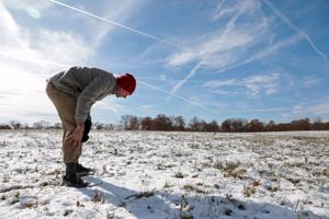 Scientists think there may be meteorites in this Missouri pasture. The hunt is on