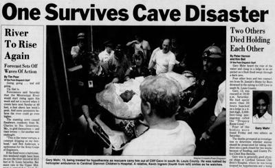 Sunday, July 25, 1993, front page of the St. Louis Post-Dispatch