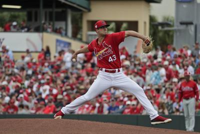 b122c3a8352 Hudson appears to nail down job as Cardinals  fifth starter