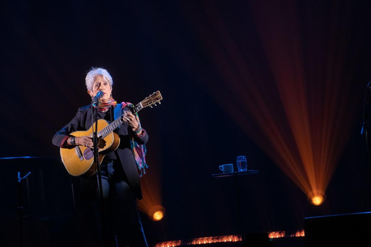 iParty: Joan Baez plays farewell tour at sold-out Pageant