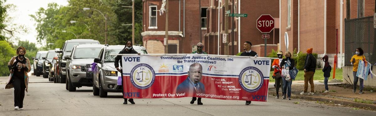 John Lewis votercade