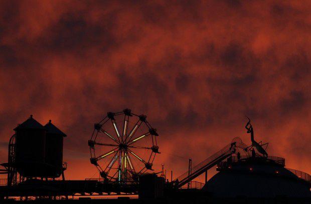 Sunset over City Museum