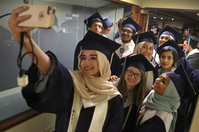 Collegiate School of Medicine and BioScience graduates first class