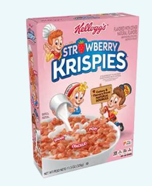 Kellogg's Strawberry Krispies