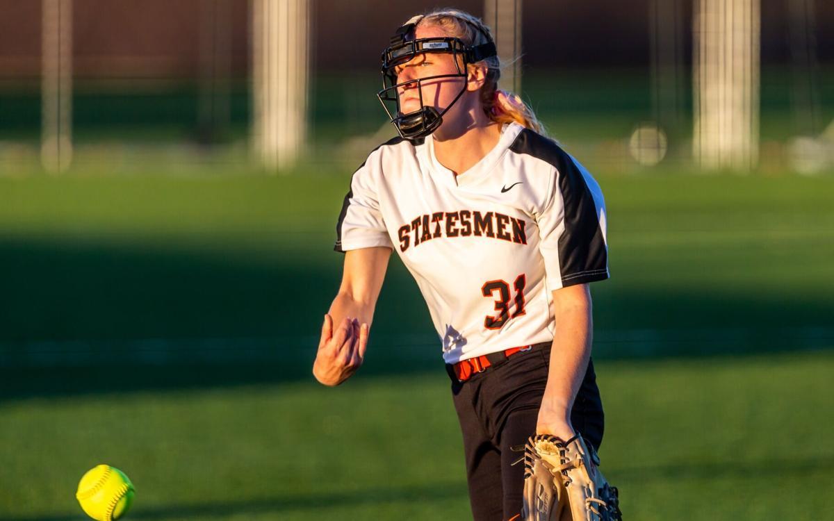 Webster Groves vs. Farmington softball
