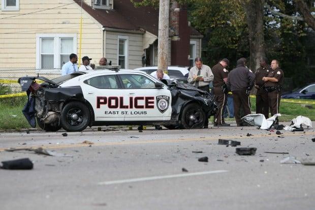 Car Crash In Saint Louis