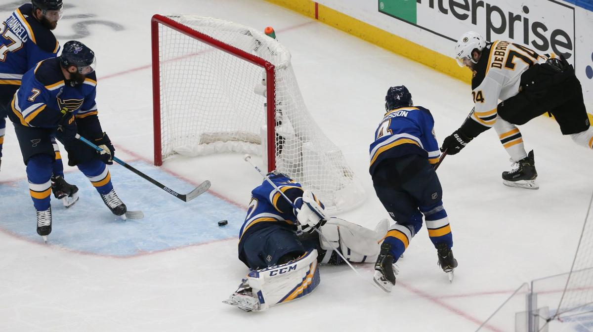 Blues skate in critical Game 4 for the Stanley Cup