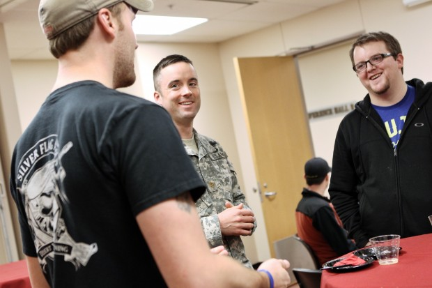 VSO helps veterans transition to student life