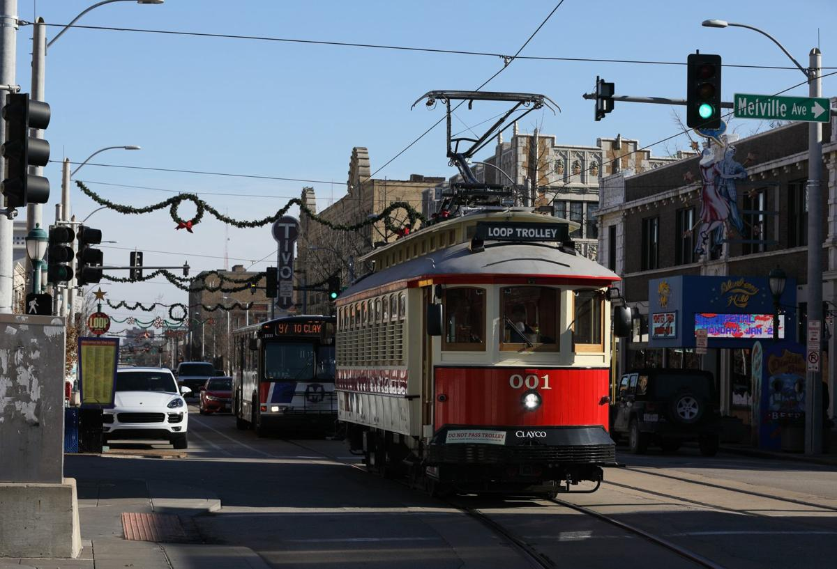 Loop Trolley in University City