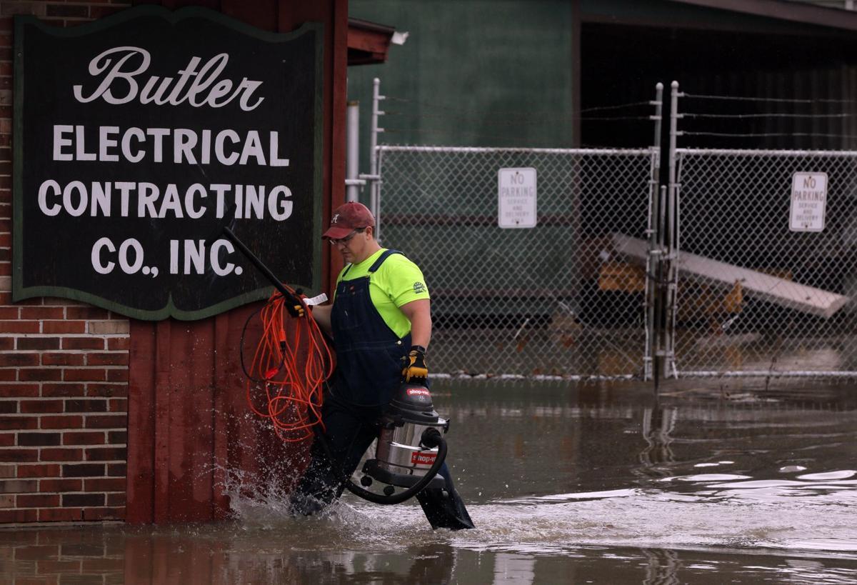 Flash flooding in Eureka