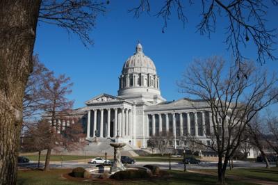 Jefferson City, state Capitol