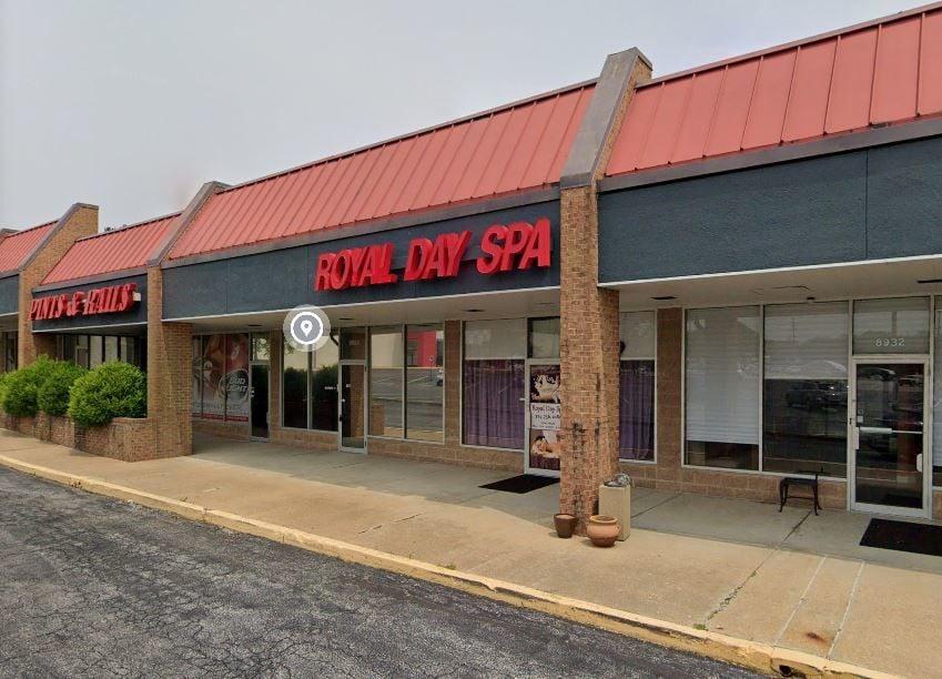 Royal Day Spa storefront