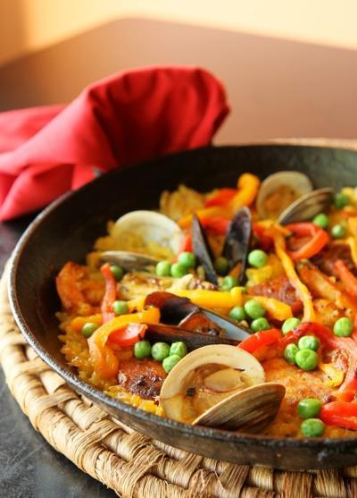 Modesto's paella