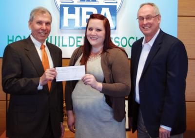 Home Builders donate to Habitat for Humanity