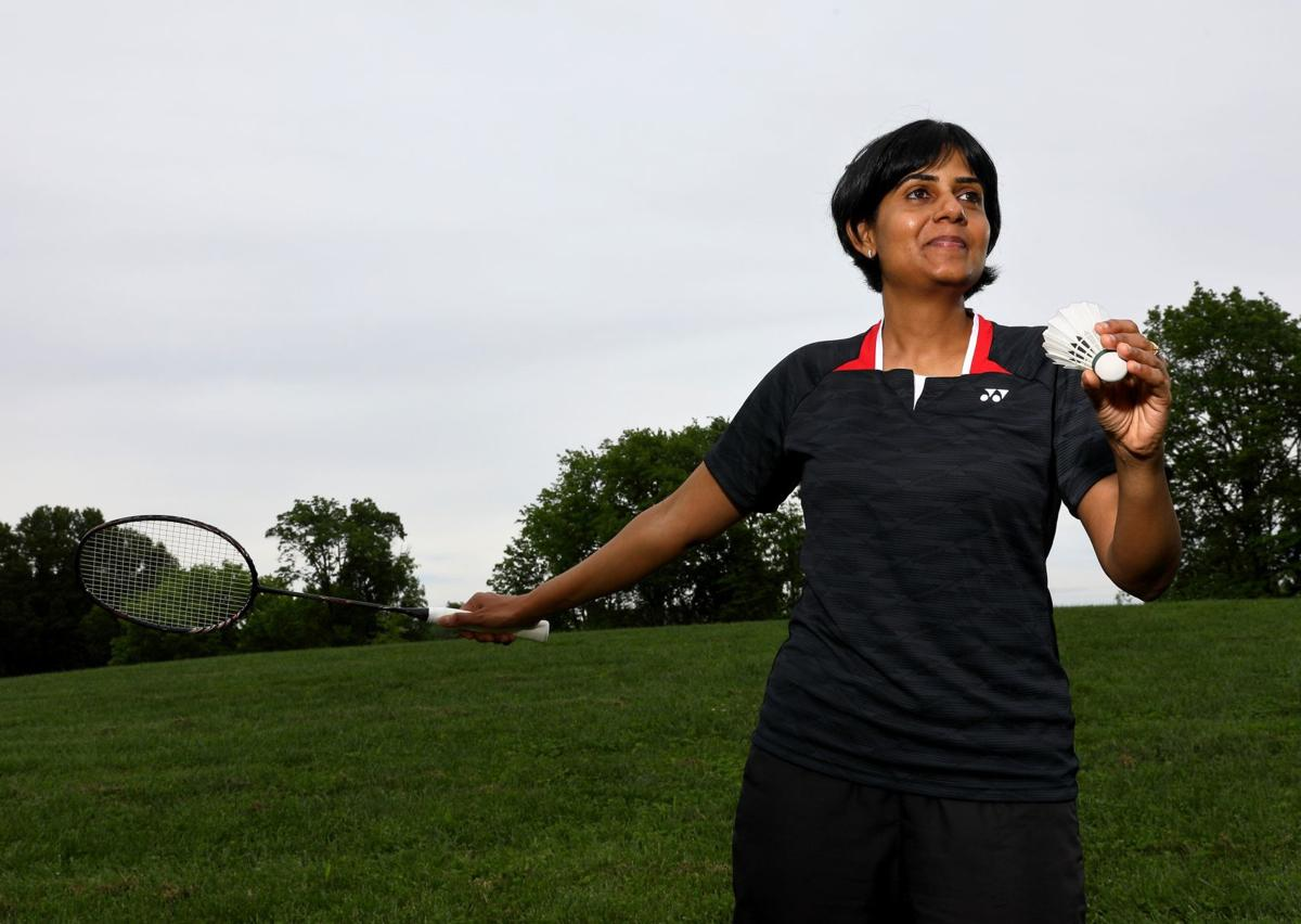 Deepti Reddy, badminton player