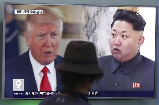 Korea tensions ease slightly as USA officials play down war risks