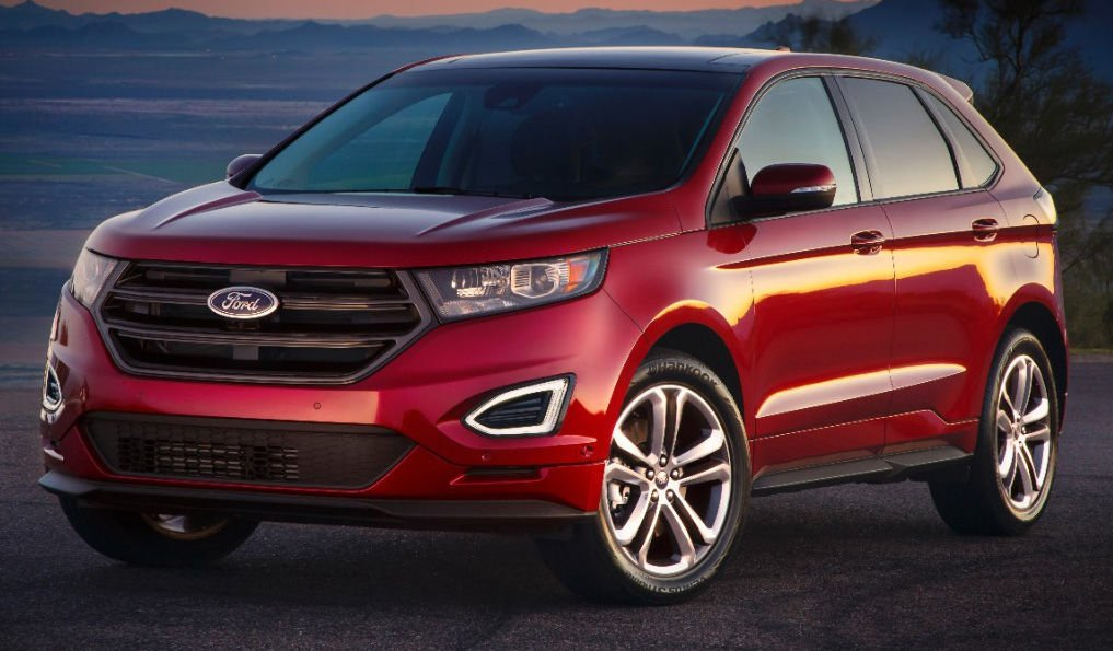The Fully Redesigned 2015 Ford Edge Jettisons Its Ancient Mazda Platform And Now Shares Underpinnings With Fusion Sedan