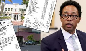 HUMMER, ribeye: Staatsanwalt Wesley Bell ' s office hat berechnet 30.000 US-Dollar für Mahlzeiten, Reise nach St. Louis County Kreditkarten
