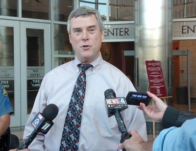 St. Louis County Prosecuting Attorney Bob McCulloch