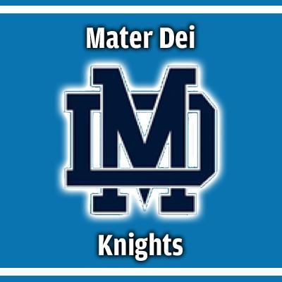 Mater Dei Knights logo