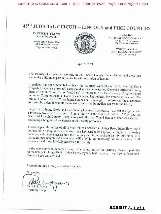 Flynn letter
